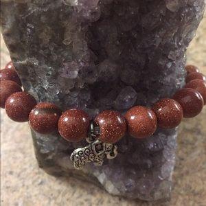 Real Goldstone Bracelet